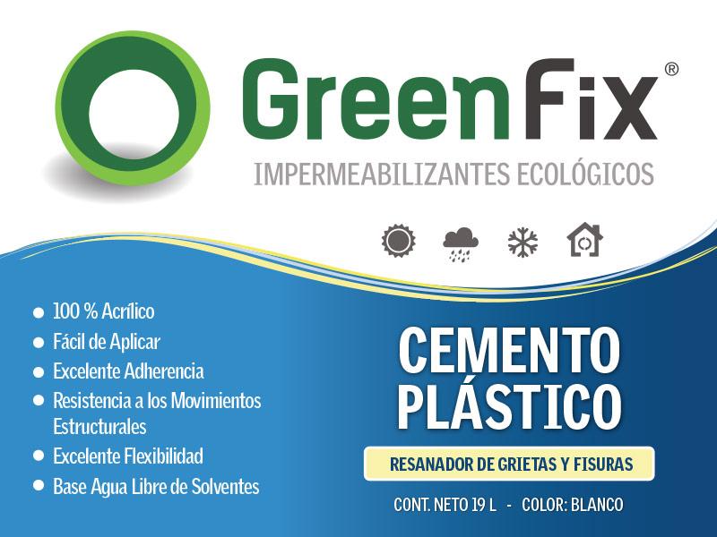 Cemento Plástico